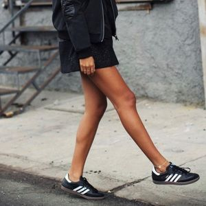 Black & white adidas sneakers ⚽️
